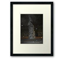 Feb. 19 2012 Snowstorm 63 Framed Print