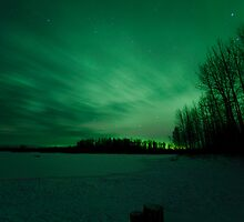 Aurora Borealis - Talkeetna by mikewheels