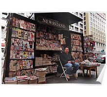 The Newsstand Poster