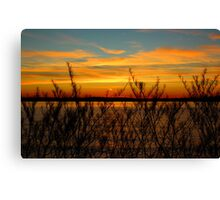 Alki Sunset Canvas Print