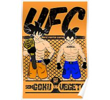 Ultimate Fighter Cartoon Poster