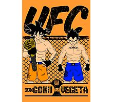 Ultimate Fighter Cartoon Photographic Print