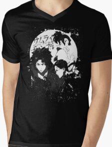 Swordman the Grunge Mens V-Neck T-Shirt