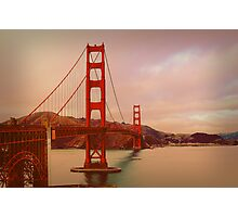 GGB in San Francisco Photographic Print