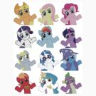 Shrugging Ponies by wafflzxpqx