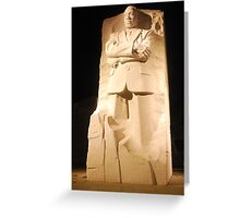 Martin Luther King Jnr Greeting Card
