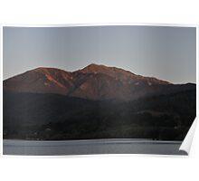 Sunset Mt Bogong, Mt Beauty, Victoria, Australia Poster