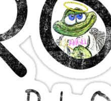 FROG Faded Sticker