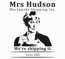 Mrs Hudson Worldwide Shipping Inc. Kids Clothes