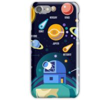 Universe Concept Isometric iPhone Case/Skin