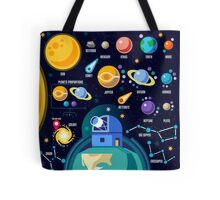 Universe Concept Isometric Tote Bag