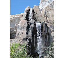 Disneyland Waterfall Photographic Print