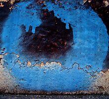 blue stroke  by Ludmil Dimitrov