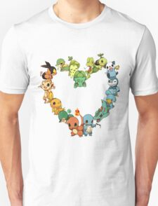 Pokemon Heart  T-Shirt