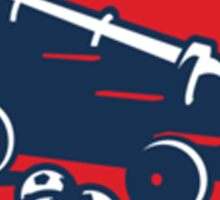 old arsenal logo Sticker