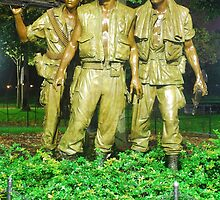 Vietnam War Memorial by Darryl