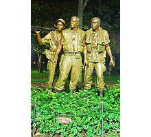 Vietnam War Memorial Photographic Print