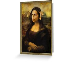 The Other Gioconda Greeting Card