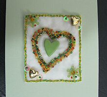 I Love You - a special greeting card by Linda Tavelli