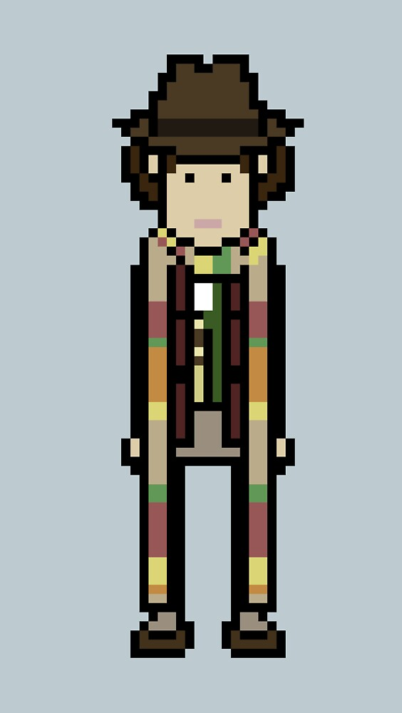 Fourth Doctor by willboes