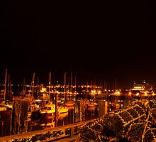 Crab Nets by Night by Nick Thompson