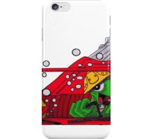 fear & loathing in bode land color iPhone Case/Skin