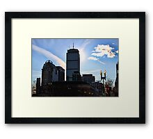 Prudential Building, Boston MA Framed Print