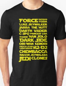 Force Emperor Typography Quote T-Shirt
