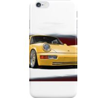 Pordche 911 (964) Carrera -yellow iPhone Case/Skin