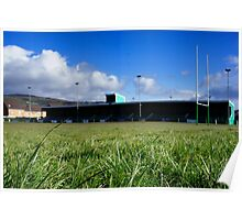Caerphilly Rugby Club Poster