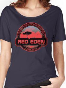 Red Eden Martian Exo-Farming Women's Relaxed Fit T-Shirt