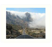 Teide Nationalpark - Tenerife Art Print