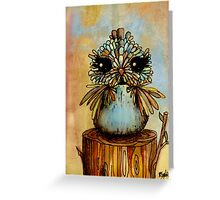 baby bird Greeting Card