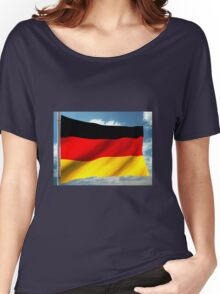 German Flag Women's Relaxed Fit T-Shirt