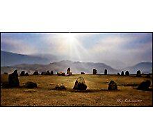 Dawn in Keswick Photographic Print