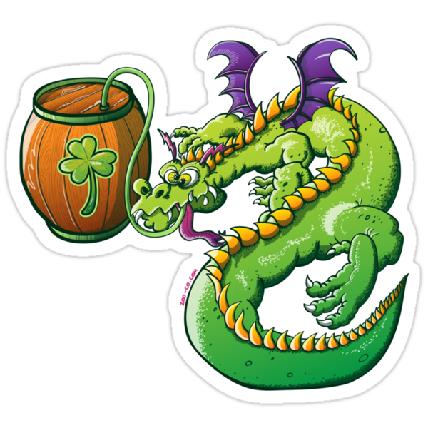 Saint Patrick's Day Dragon by Zoo-co