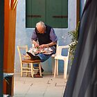 Sowing on Burano by Ommik