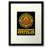 Dune SPACING GUILD Framed Print