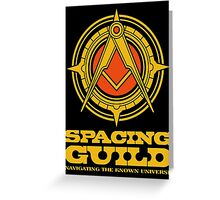 Dune SPACING GUILD Greeting Card