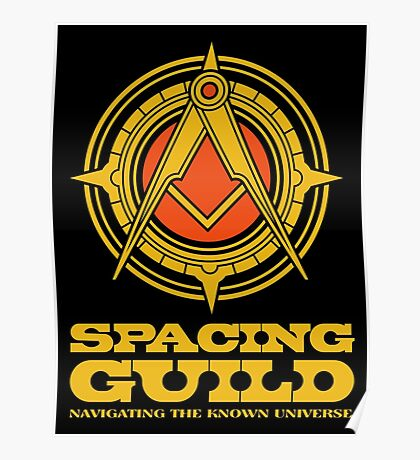 Dune SPACING GUILD Poster