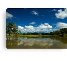 The Stillness Of The Day Canvas Print