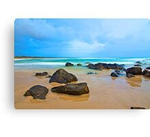 Cabarita Rocks Canvas Print