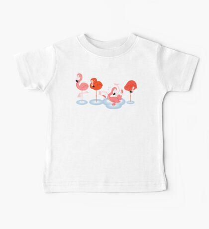 Flamingos Baby Tee