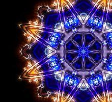 Diamond Blue Big by Ra12