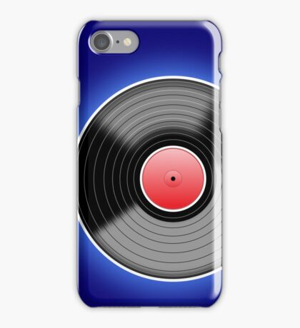 Long Player Record Big iPhone Case/Skin
