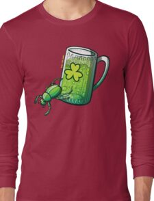Saint Patrick's Day Beetle Long Sleeve T-Shirt