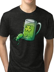 Saint Patrick's Day Beetle Tri-blend T-Shirt