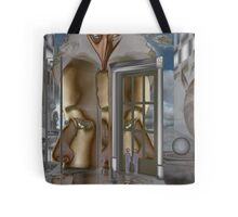 Quantum field energy hologram of subconscious world 502080528, dimension 8 Tote Bag