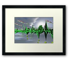 The sky kingdom  Framed Print