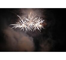 Fireworks at Crossford, 2006 Photographic Print